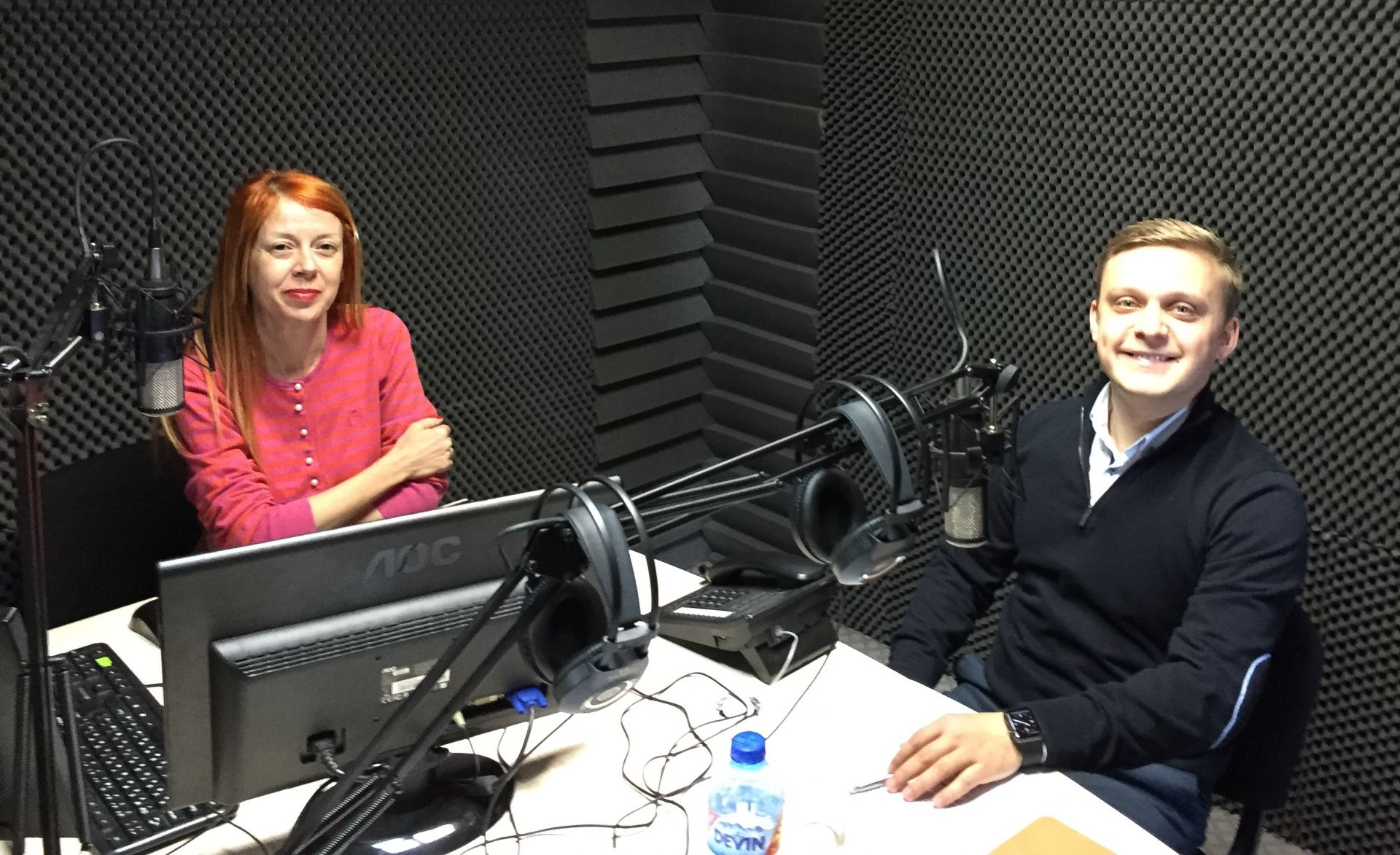 На гости в общинско радио Бургас
